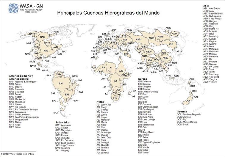 cuencas del mundo