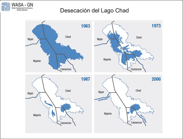Desecacion del Lago Chad